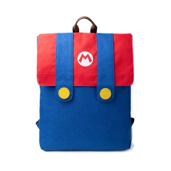 Nintendo - Mario'S Suit Unisex Top-Loader Backpack - Multi-Colour