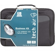Tech Air Z0103 17  Black Briefcase and Mouse