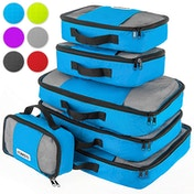 Savisto Packing Cubes Suitcase Organiser 6-Piece Set - Blue