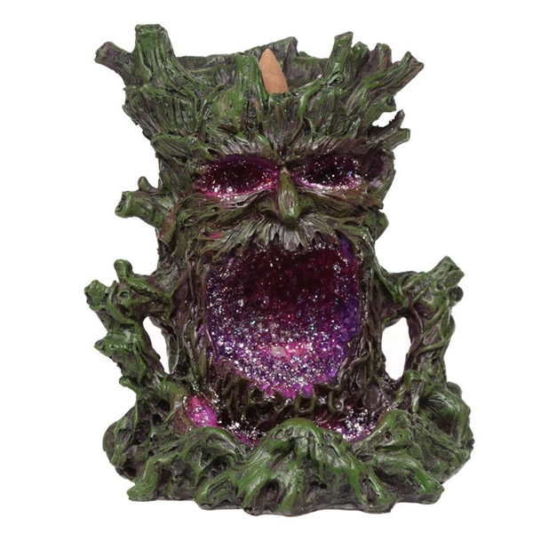 Green Man LED Backflow Incense Burner