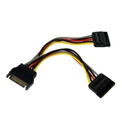 StarTech 6in SATA Power Y Splitter Cable Adapter - M/F
