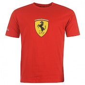 Ferrari Alonso Logo T-Shirt Large Red