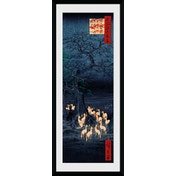 Hiroshige New Years Eve Foxfire Collector Print