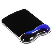 Kensington Duo Gel Wave Mouse Wristrest Black/Blue