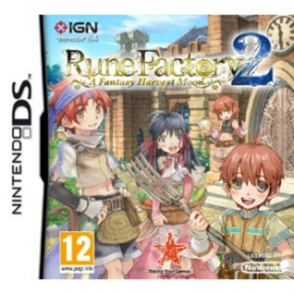Rune Factory 2 A Fantasy Harvest Moon Game DS