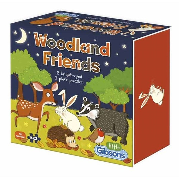 Woodland Friends Jigsaw Puzzle - 16 Pieces