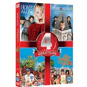 Home Alone 1&2/The Sandlot 1&2 DVD