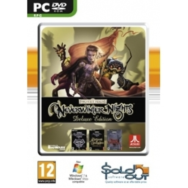 Ex-Display Neverwinter Nights Deluxe Game PC Used - Like New