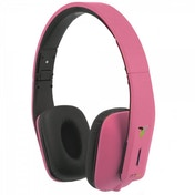 iT7x2 Foldable Wireless Bluetooth Headphones with Near Field Communication NFC Pink