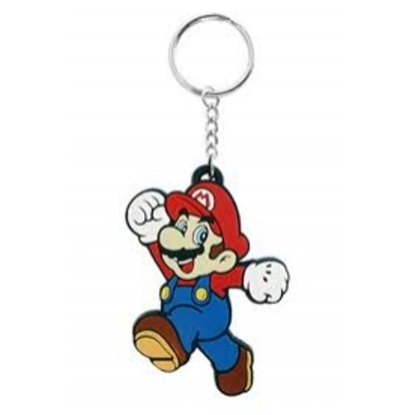 Nintendo Mario Rubber Key Chain
