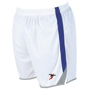 Precision Roma Shorts Junior White/Royal/Silver -  M/L Junior 26-28""
