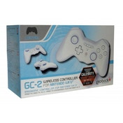 White Gioteck GC-2 Bluetooth Controller Wii U