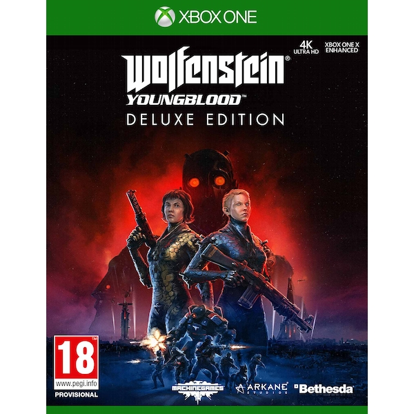 Wolfenstein Young Blood Deluxe Edition Xbox One Game (Pre-Order Bonus Pre-Order Bonus)