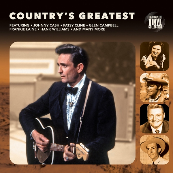 Various - Country's Greatest Vinyl