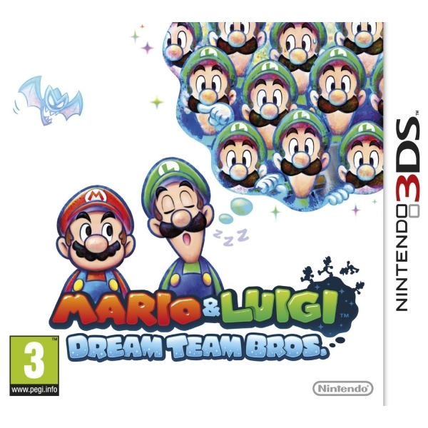 Mario & Luigi Dream Team Game 3DS