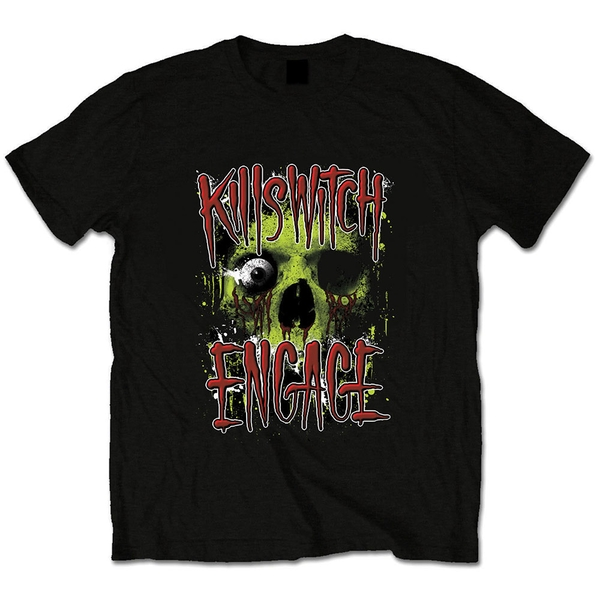 Killswitch Engage - Skullyton Unisex Small T-Shirt - Black