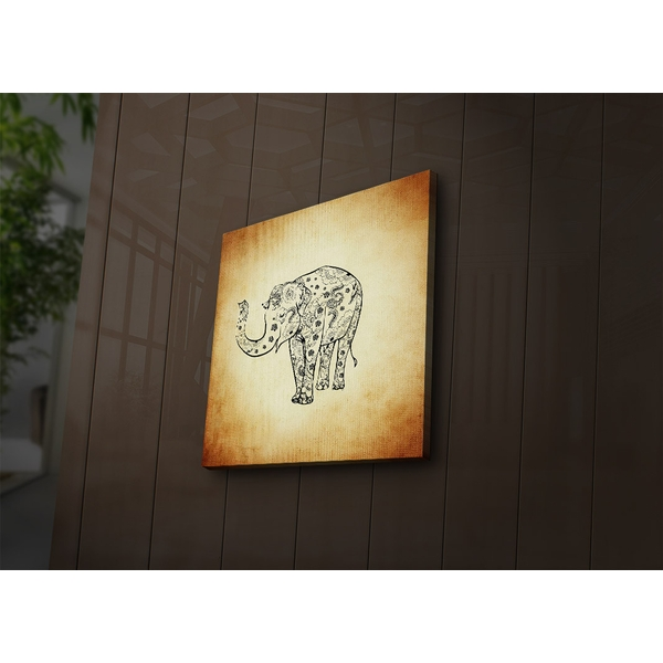 4040?ACT-42 Multicolor Decorative Led Lighted Canvas Painting