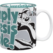 MugBug Pepe Le Pew Simply Irresistible Logo Novelty Coffee/Tea Mug