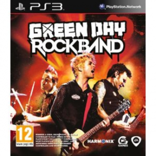 Rock Band Green Day Solus Game PS3 - Image 1