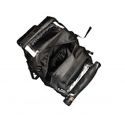 Ultra Po Citadel Backpack - Black with Silver Trim