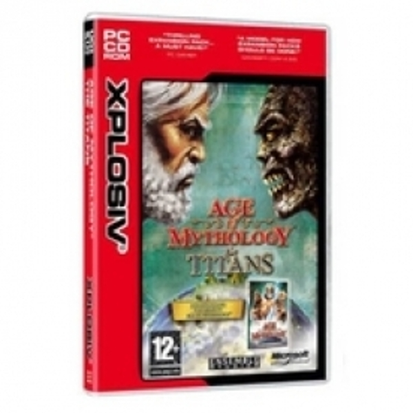 Ex-Display Age of Mythology The Titans Game PC Used - Like New