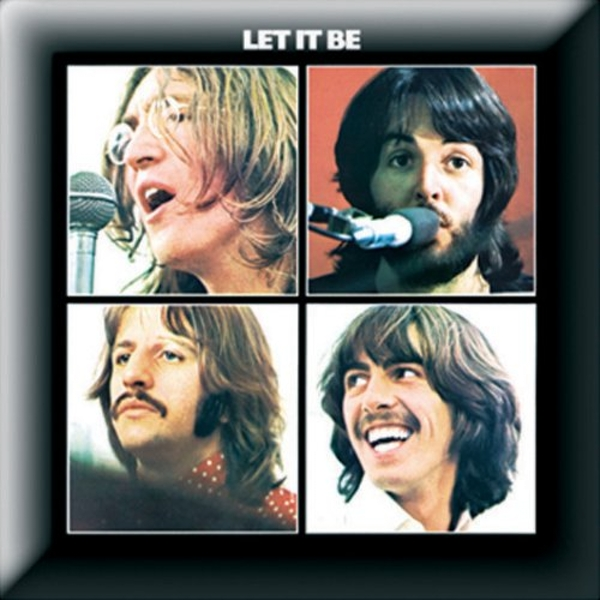 The Beatles - Let it Be Pin Badge