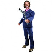 Anchorman Battle Ready Brian 8-Inch Retro-Style Action Figure