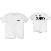 The Beatles - Drop T Logo Men's XX-Large T-Shirt - White