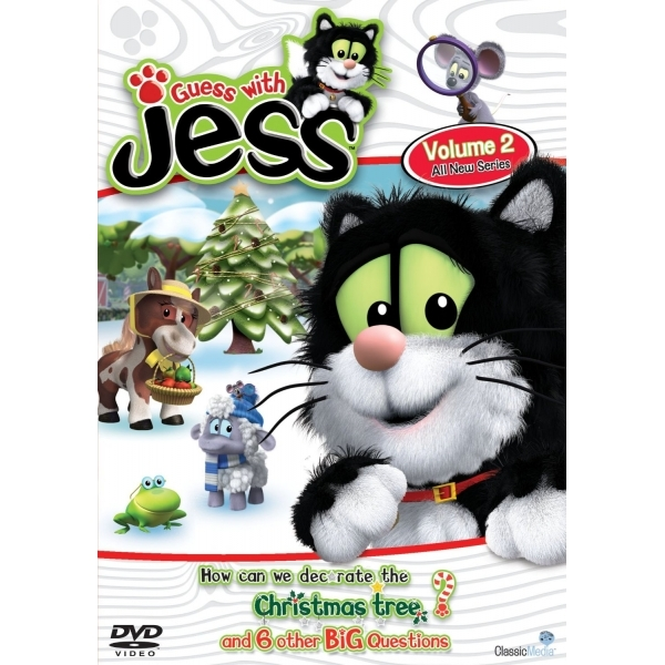 Guess With Jess How Do We Decorate the Christmas Tree DVD