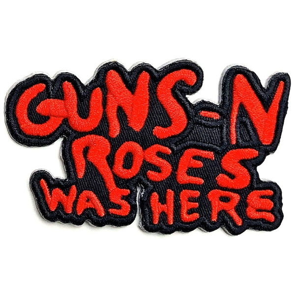 Guns N' Roses - Cut Out Was Here Standard Patch
