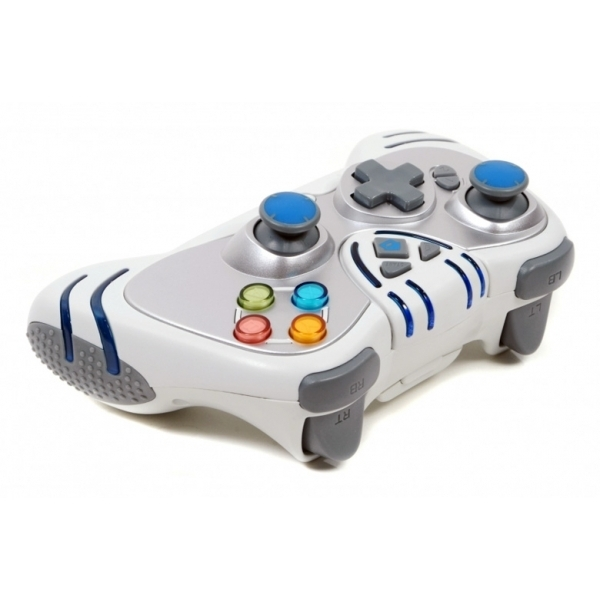 Ex-Display Datel Wildfire 2 Wireless Controller In White Xbox 360 Used - Like New - Image 2
