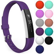 Yousave Activity Tracker Single Strap - Plum (Large)