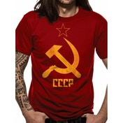 Cid Originals - CCCP Men's X-Large T-Shirt - Red
