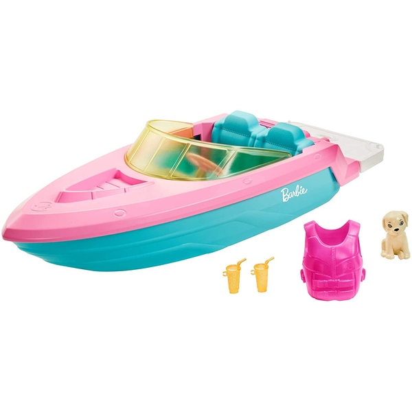 Barbies Boat Playset