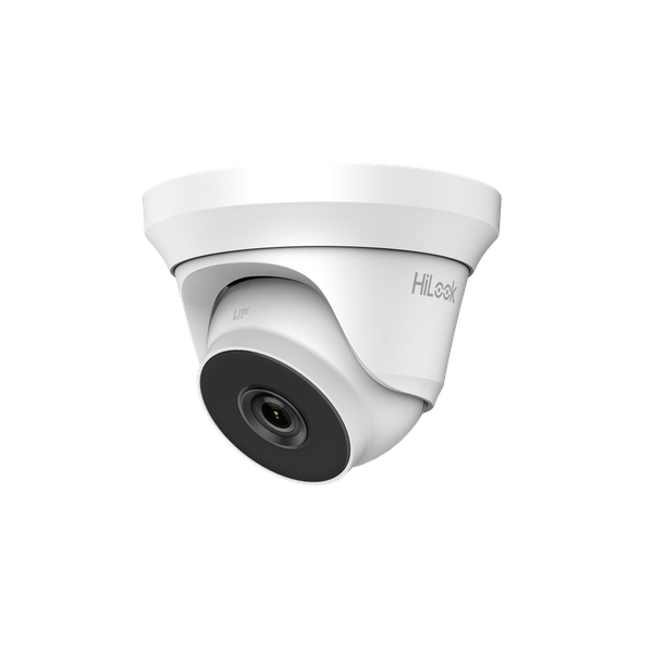 HiLook By Hikvision THC-T220 2.8 mm HD 1080p EXIR Turret CCTV Camera - White