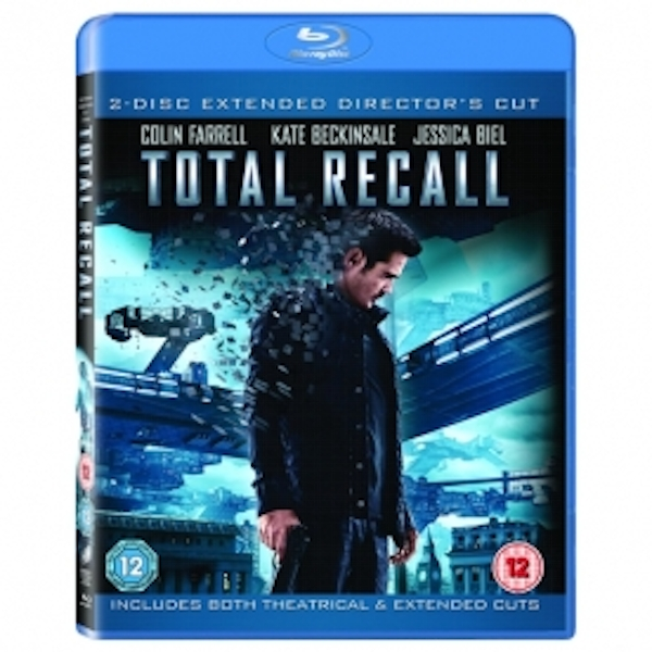 Total Recall extended directors cut Blu-ray