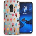 CASEFLEX SAMSUNG GALAXY S9 PLUS ICE CREAM PATTERN SMALL CASE / COVER (3D)