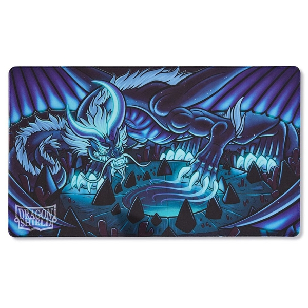 Dragon Shield Playmat- Delphion (Matte Night Blue Japanese) Limited Edition