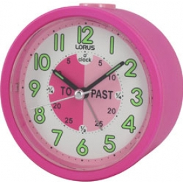 time teacher beep alarm clock pink. Black Bedroom Furniture Sets. Home Design Ideas