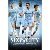 Manchester City Six Maxi Poster