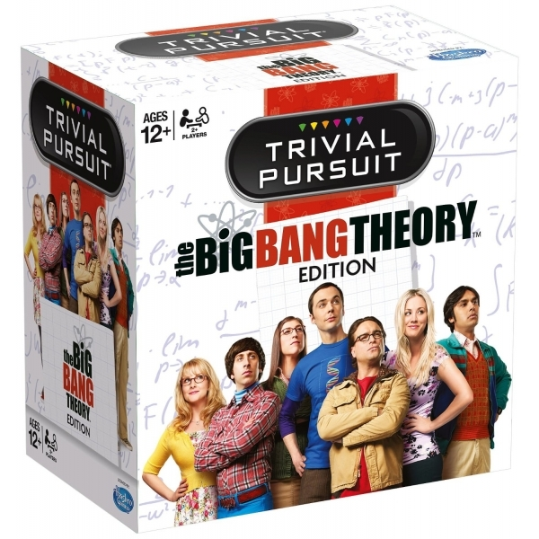 Ex-Display Trivial Pursuit The Big Bang Theory Edition Board Game Used - Like New