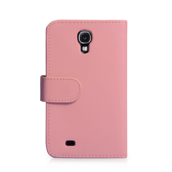 YouSave Accessories Samsung Galaxy S4 Leather Effect Wallet - Baby Pink - Image 2
