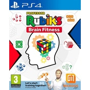 Professor Rubik's Brain Fitness PS4 Game