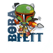 Bobba Fett 3D Mini Wall Light - Image 2