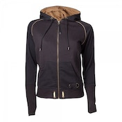 Assassin's Creed Syndicate Women's X-Large Full Length Zipped Hoodie - Black