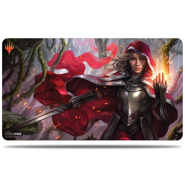 Ultra Pro Magic The Gathering: Throne of Eldraine Red Rowan Hood Playmat