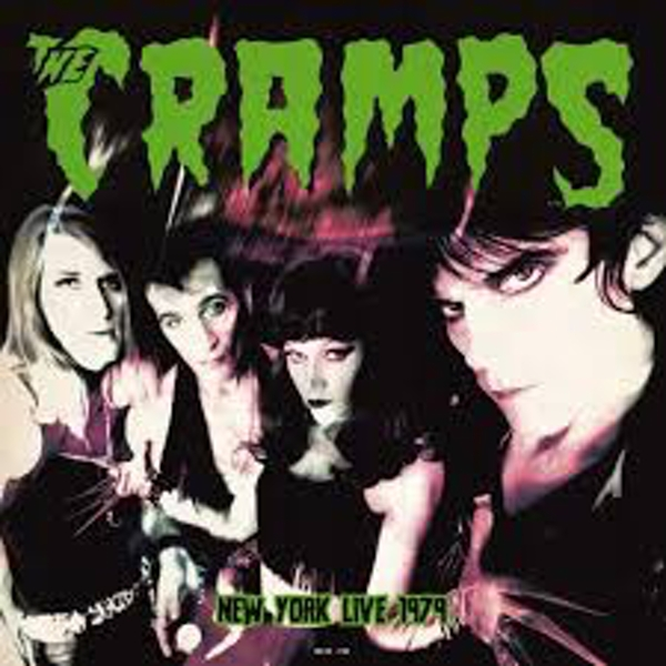 The Cramps ‎– Live In New York 1979 Vinyl