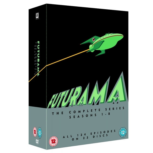Futurama Season 1-8 DVD