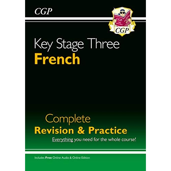 KS3 French Complete Revision and Practice with Audio CD by CGP Books (Paperback, 2006)