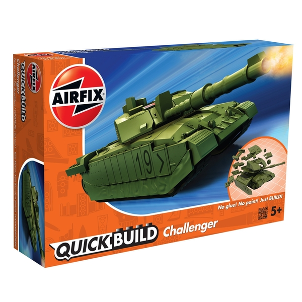 Challenger Tank Green Quickbuild Air Fix Model Kit